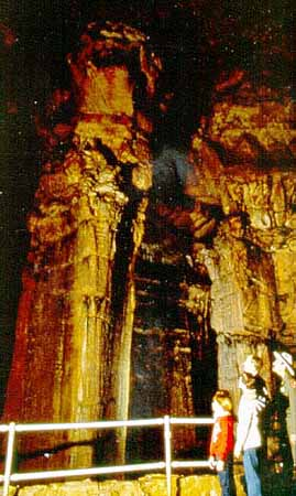 The Ruins of Karnak of Mammoth Dome in Mammoth Cave